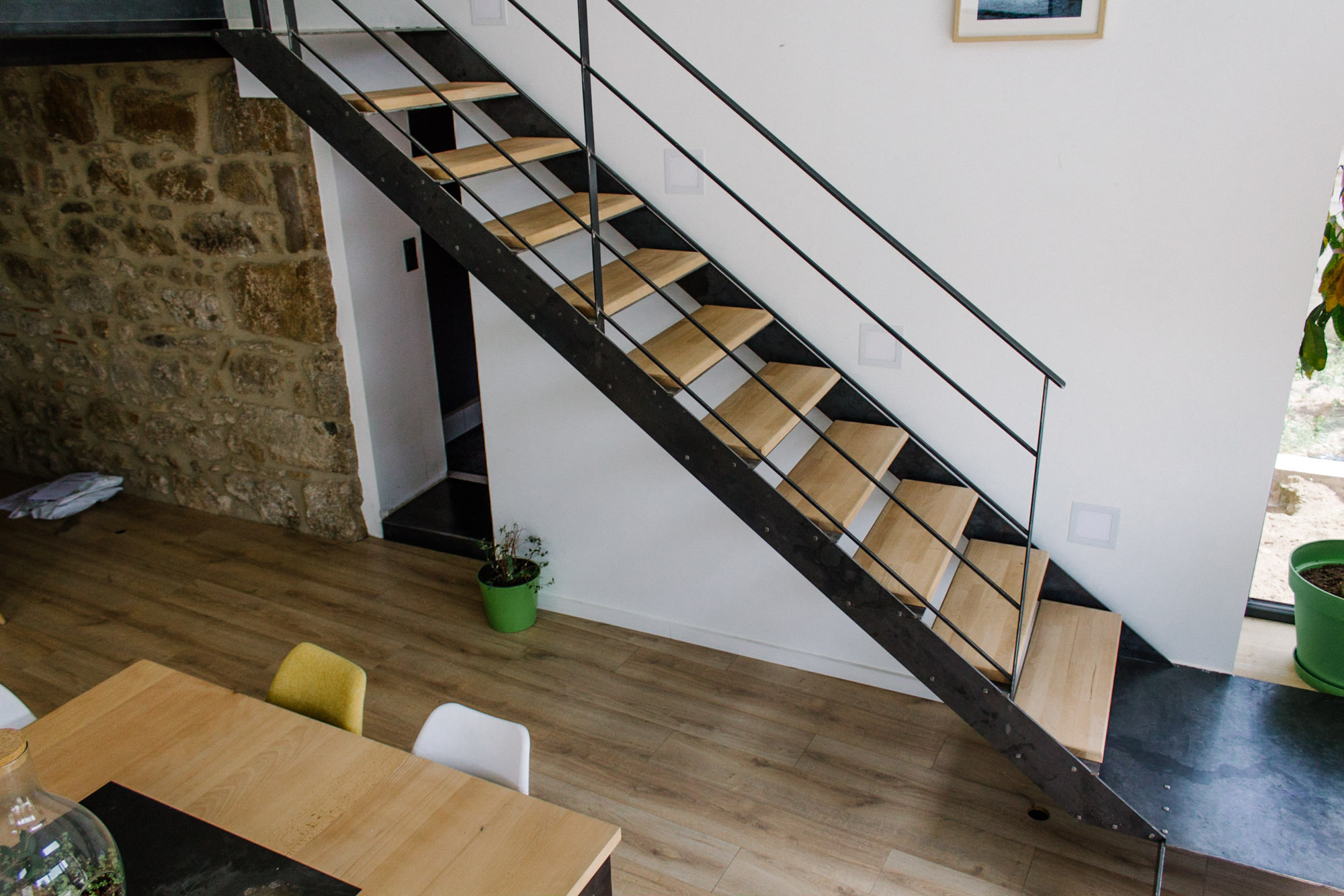 escaliers modernes