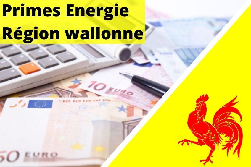 prime énergie en région wallonne